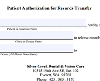 F04 Dental Records Transfer