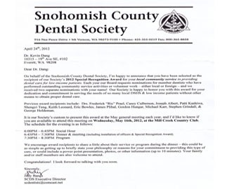 snohomish county dental society